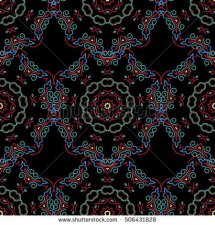 stock-vector-traditional-vector-gothic-damask-background-violet-seamless-background-flower-ornament-pattern-506431828