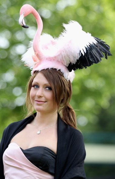 ASCOT, ENGLAND - JUNE 16: A lady in a hat poses for a photograph on day three of Royal Ascot at Ascot Racecourse on June 14, 2011 in Ascot, United Kingdom. (Photo by Chris Jackson/Getty Images)