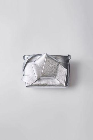 Musubi handbag silver