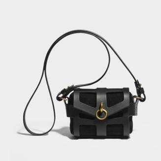 La borsa Tiny Cage Black O-ring - CLASSIC O-RING TINY CAGE BAG BLACK €896.94